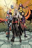 X-Men No 40: Storm  Domino  Colossus  Pixie  Psylocke