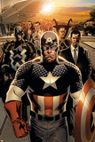 New Avengers No 1: Captain America  Stark  Tony  Black bolt  Mr Fantastic  Namor  Dr Strange