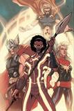 Avengers World No 5: Manifold  Captain Marvel  Thor  Hyperion