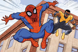 Ultimate Spider-Man Style Guide: Spider-Man  Power Man