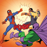 Ultimate Spider-Man Style Guide: Spider-Man  Power Man  Prowler