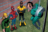 Ultimate Spider-Man Style Guide: Spider-Man  Iron Fist  Power Man  Mad Thinker