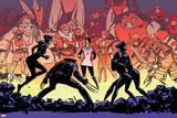Marvel Knights: X-Men No 4: Wolverine  Sabretooth  Lady Deathstrike  Rogue  Silver Samurai