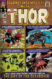 Marvel Comics Retro Style Guide: Thor  Loki  Odin  Destroyer