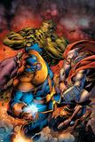 Avengers Assemble No 8: Thanos  Thor  Hulk