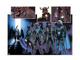 Uncanny Avengers No 9: Wolverine  Banshee  Sentry  Grim Reaper