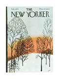 The New Yorker Cover - February 7  1970