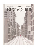 The New Yorker Cover - February 10  1986