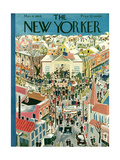 The New Yorker Cover - March 4  1944