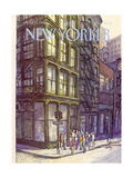 The New Yorker Cover - October 13  1980