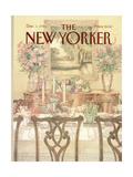 The New Yorker Cover - December 1  1986