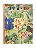 The New Yorker Cover - August 31  1946