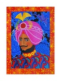 Maharaja with Pink Turban  2012