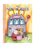 The New Yorker Cover - December 23  1991