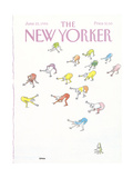 The New Yorker Cover - June 23  1986