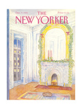 The New Yorker Cover - December 9  1985