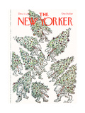 The New Yorker Cover - December 12  1977