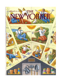 The New Yorker Cover - April 22  1991