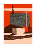 Container, 2014 Reproduction d'art par Eliza Southwood