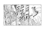 Avengers Assemble - 2014 Inked Panel Art