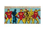 Marvel Comics Retro Style Guide: Iron Man