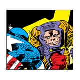 Marvel Comics Arnim Zola - Panel Art
