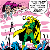 Marvel Comics Loki - Panel Art