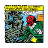 Marvel Comics Red Skull - Panel Art