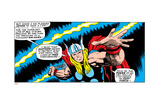Comics - Thor Artwork - Panel Art