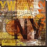 Ny Grunge Collage Letterset