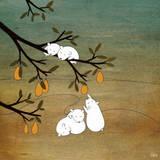 Sugar Plum Tree Reproduction d'art par Kristiana Pärn