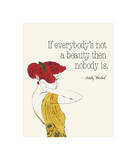 Everybody's Not a Beauty (Fashion)