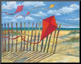 Beach Kites Red