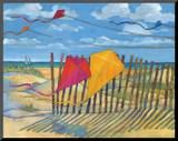 Beach Kites Yellow