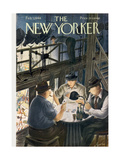 The New Yorker Cover - February 7  1948