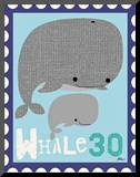Animal Stamps - Whale
