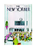 The New Yorker Cover - December 16  1974