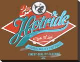 Hotride Retro Race Poster