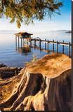 Pier Lake Tahoe Sierra Nevada