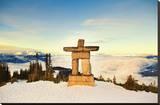 Stone Man on Mount Whistler