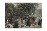 Afternoon in the Tuileries  1867