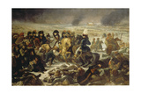 Napoleon on the Battle Field of Eylau  9th February 1807  1808