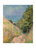 The Path of La Cavée at Pourville  1882