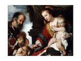 The Holy Family with the Infant St John the Baptist