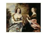 Die Ladies Morton Und Killigrew  Um 1638
