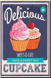 Vector Cupcakes Poster