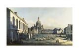 The Neue Markt in Dresden  1747-1755