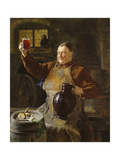 Master Brewer at Mealtime in the Cellar of the Cloister  1892