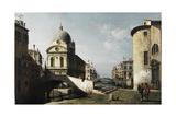 Capriccio with View of Santa Maria Dei Miracoli  Venice  Ca 1740