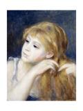 Head of a Young Girl (Tete De Jeune Fille)  1890